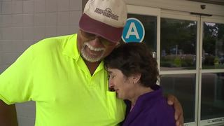 Family meets good Samaritan who performed CPR