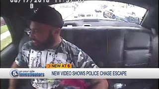 Man accused of stealing police car not cuffed