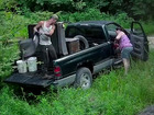 Couple charged for dumping trash in preserve