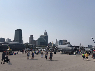 Top places to watch the 2018 Cleveland Air Show