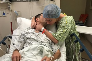 Kent State student donates kidney to father