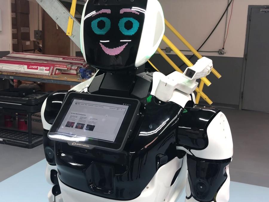Northeast Ohio company creates robots to help with school ...