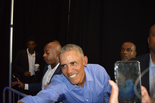 PHOTOS | Obama in CLE for gubernatorial rally