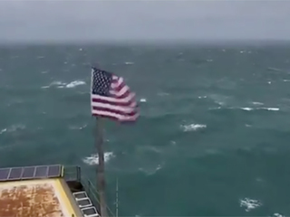 LIVE: Watch Florence from tower off NC coast