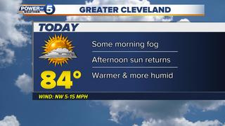 WEATHER: Thick fog for some this morning