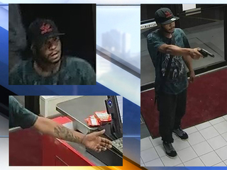 Akron police on the hunt for fast food bandit