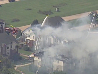 3 injured in massive fire in Olmsted Falls