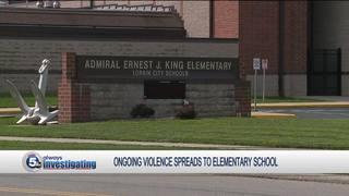 Children misbehaving at Lorain elementary school