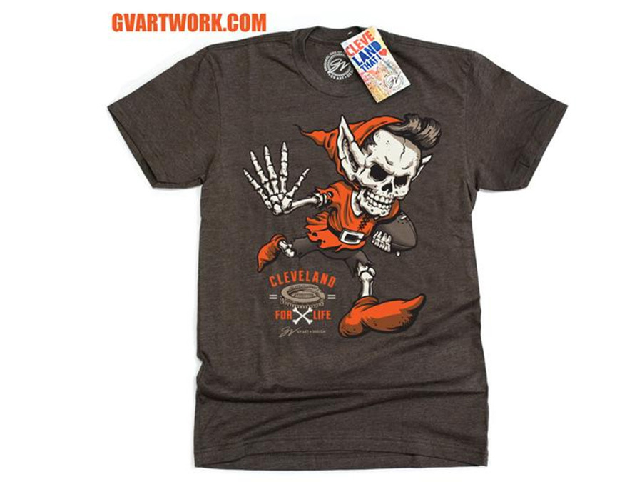 203a9f285d3 The first Browns win in forever has inspired some pretty creative shirts