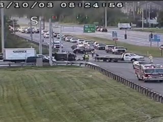 Entrance ramp to I-90 EB at Route 44 closed