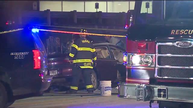 Fiery Car Crash Dc
