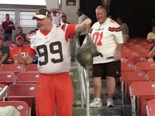 Browns may have found new rally possum