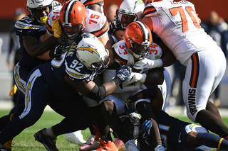 Cleveland Browns vs. Los Angeles Chargers