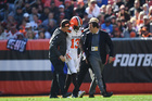 Two Browns players out with injuries