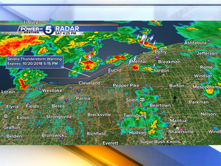 Strong winds cause power outages across NE Ohio