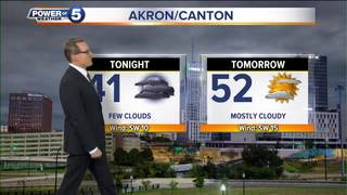 WEATHER: Chilly tonight and cool on Tuesday