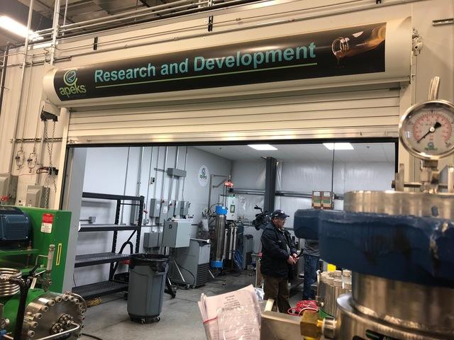 Inside a local medical marijuana processing facility that