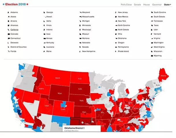 Us Senate Election Map Results - Modern Design Of Wiring Diagram •