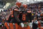 Mayfield has Browns believing dark days over