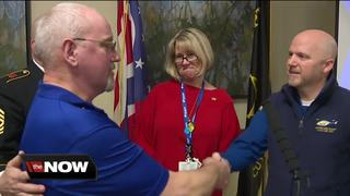 Veteran gets a surprise he'll never forget