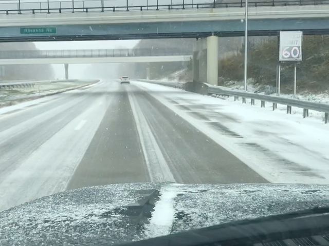 odot reduces speed on i 90 in lake county news 5 cleveland