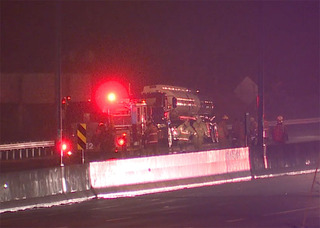 State Route 8 reopens after tanker catches fire