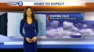 WEATHER: More wintry weather into the weekend