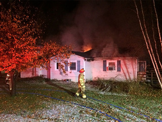 Chardon firefighters respond to a house fire