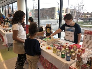 Teaching kids how to run a company and give back