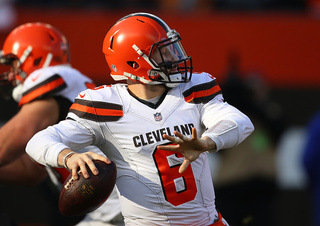 Browns beat Panthers, 26-20