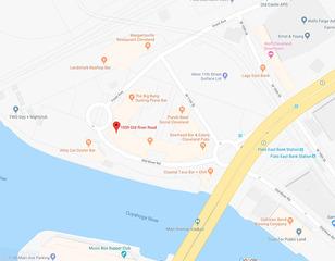 Woman hits pedestrian in Flats East Bank