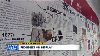 Art exhibit takes on redlining in the city